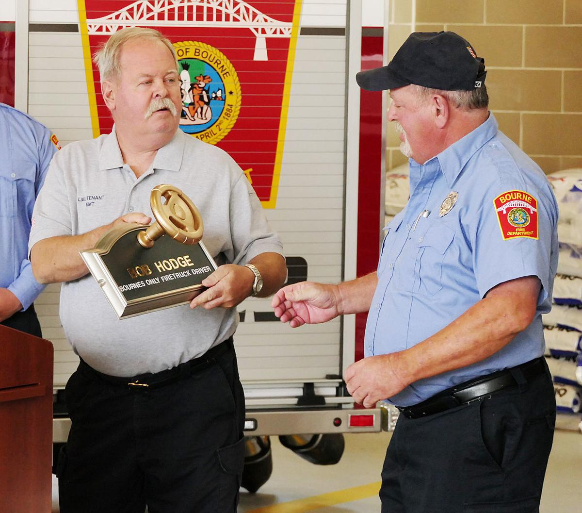 Sagamore Fire Station Ceremony
