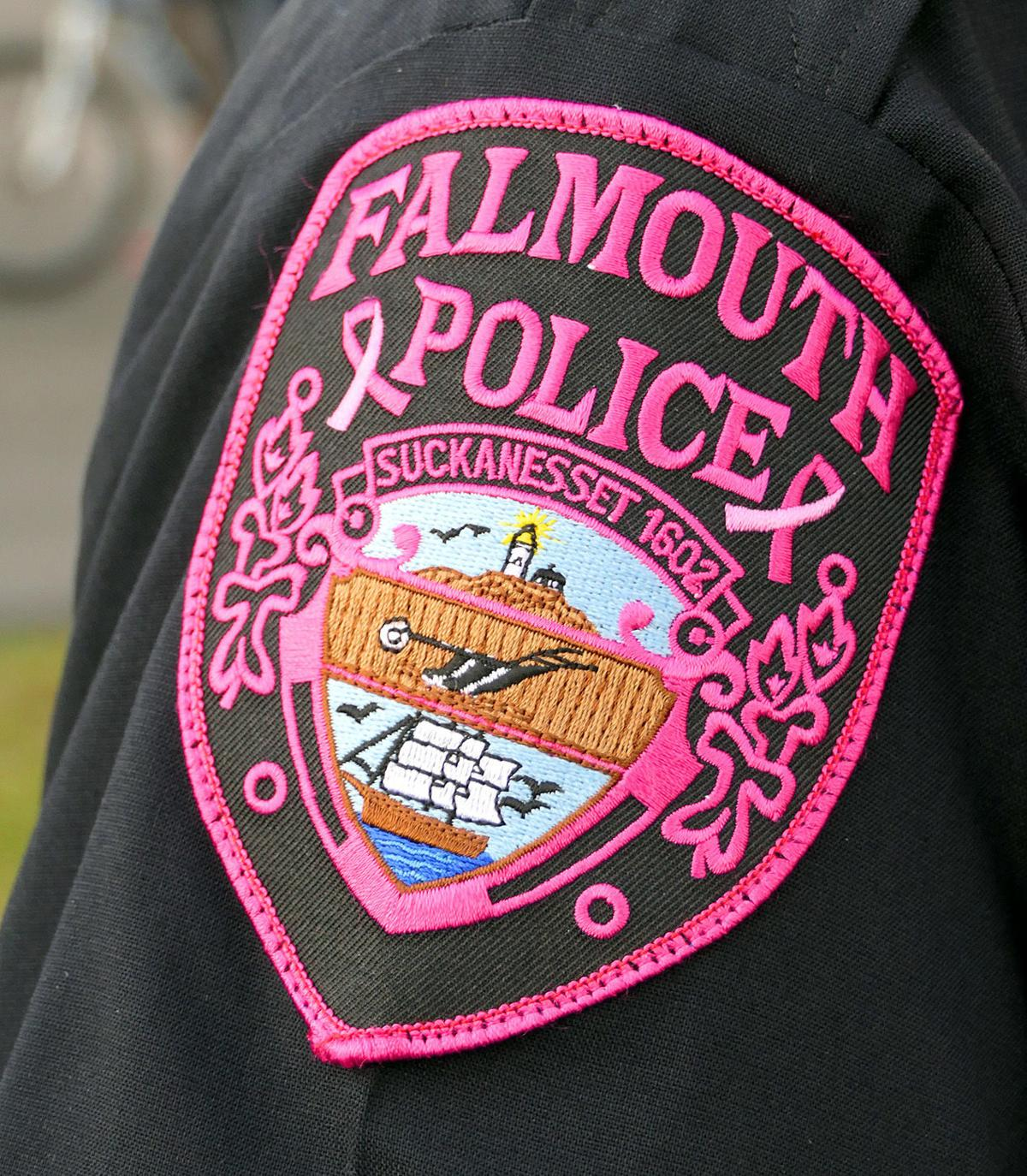 Falmouth Police Department Pink Patch