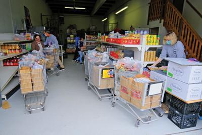 Bourne Food Pantry During Pandemic