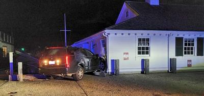 SUV Crash On Clinton Avenue