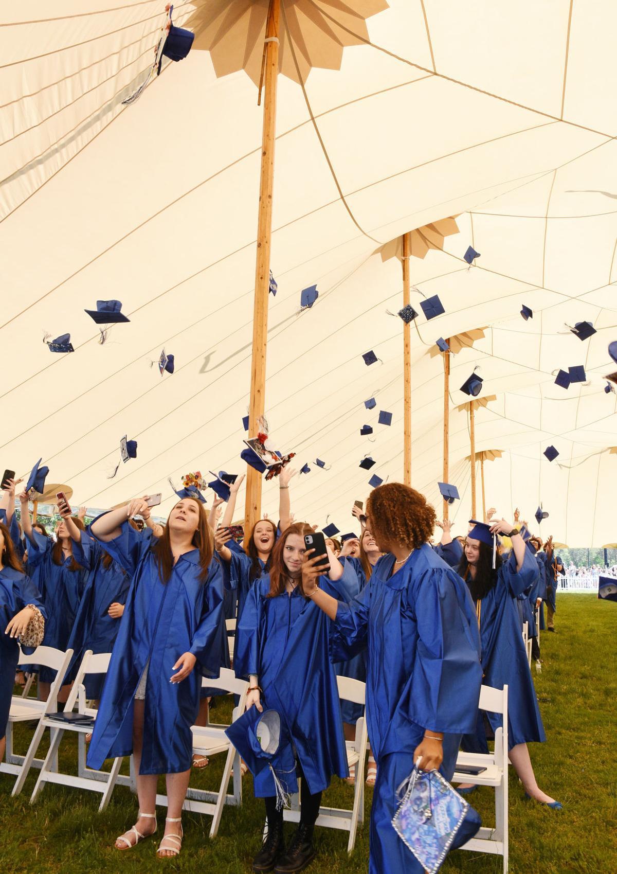 Upper Cape Tech Graduation Caps