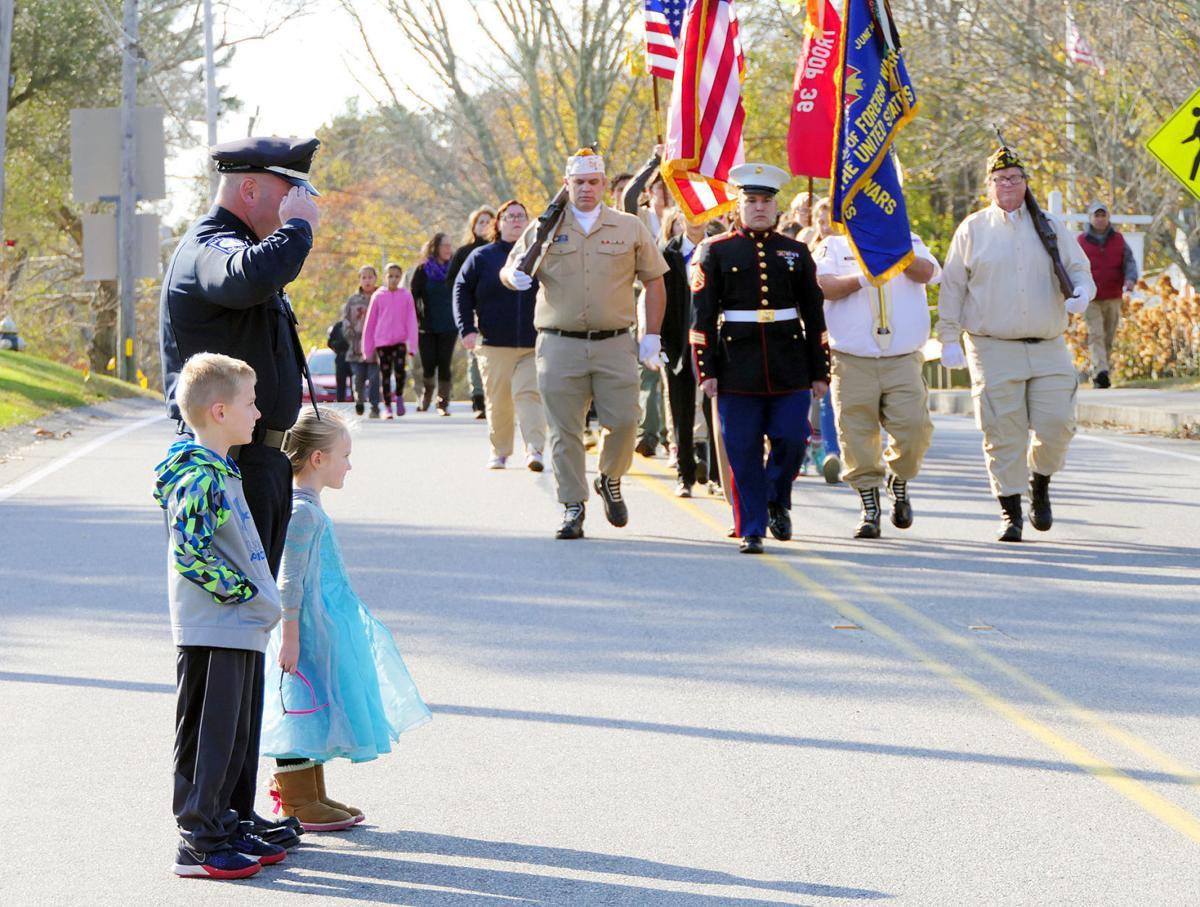 Mashpee Veterans Day Ceremony