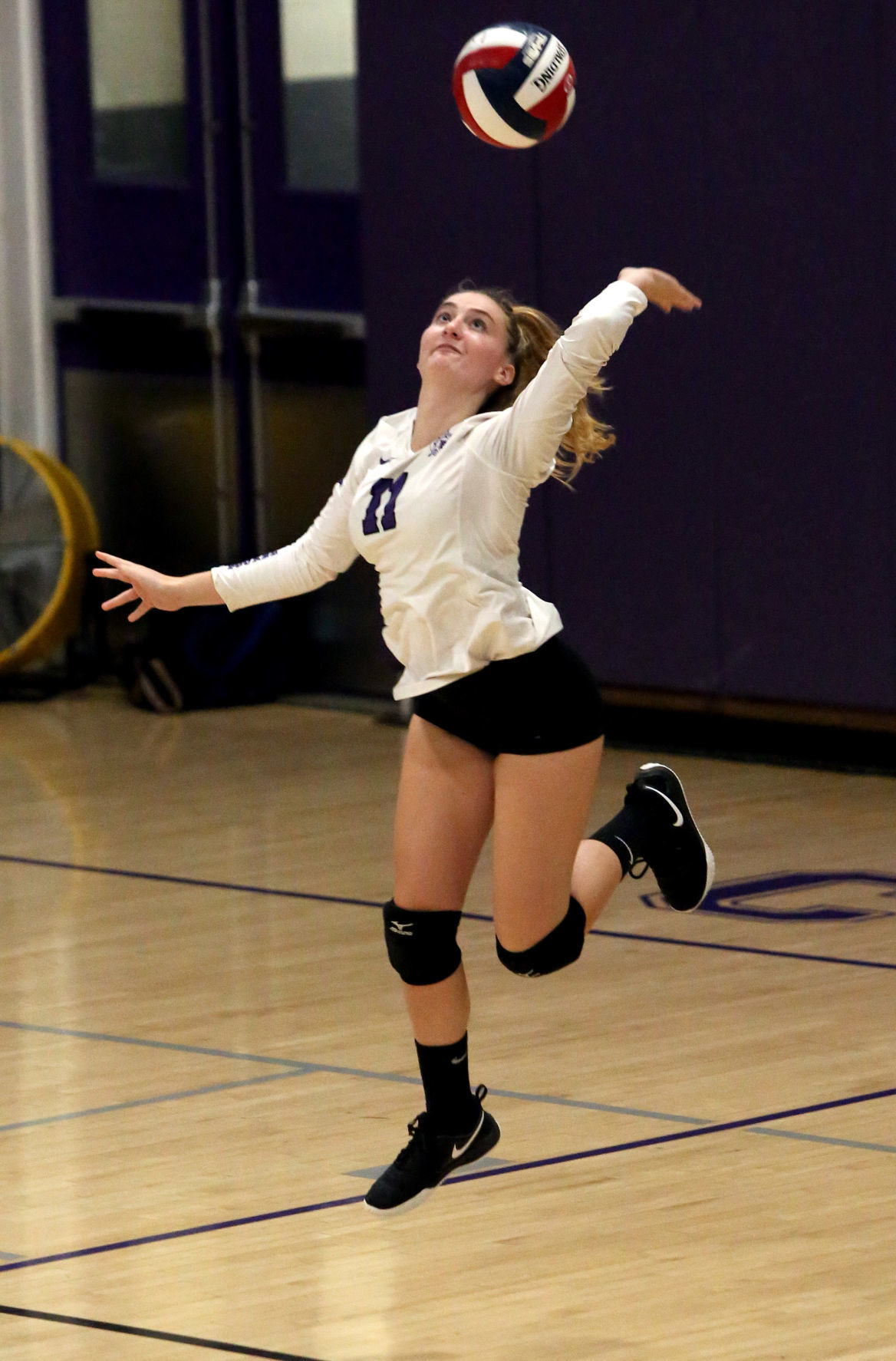 New Bedford Voke Tech Sweeps Bourne Volleyball