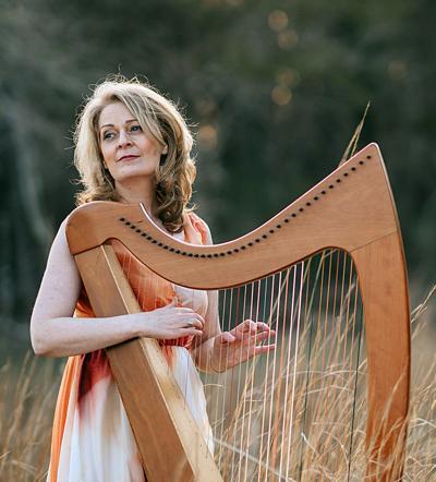 CCoCC Harpist