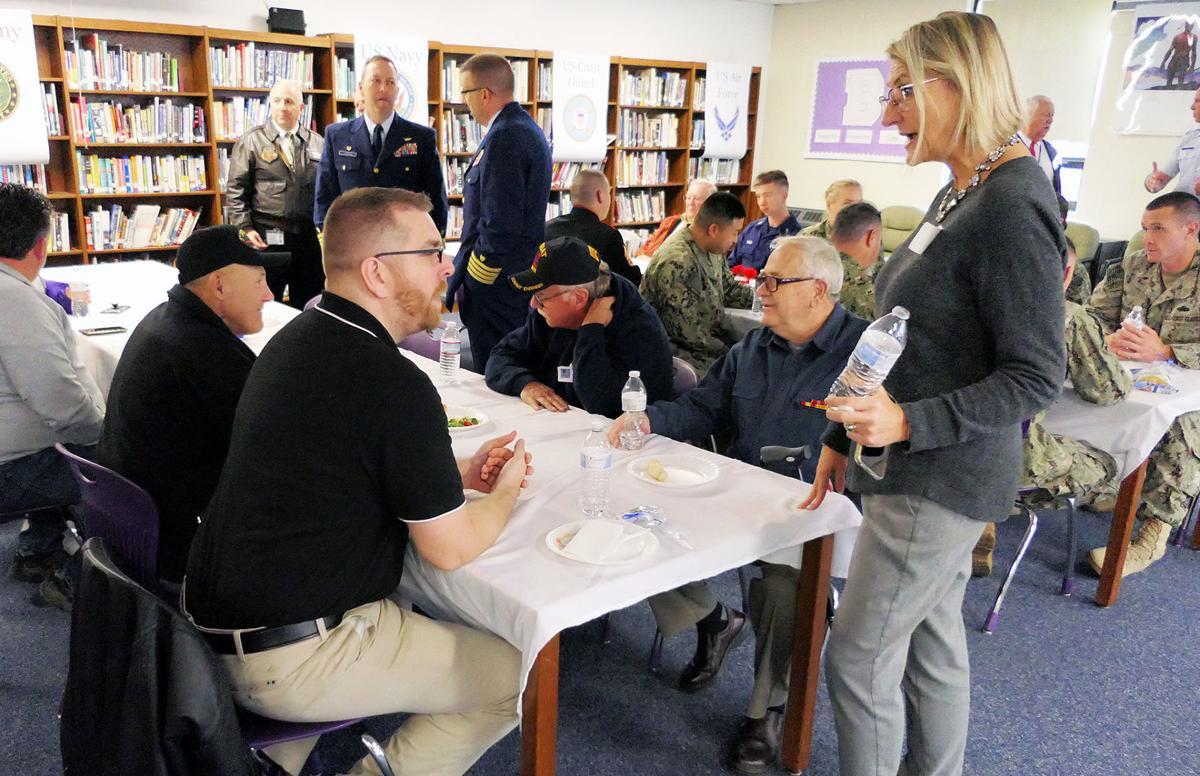 Bourne High School Veterans Day