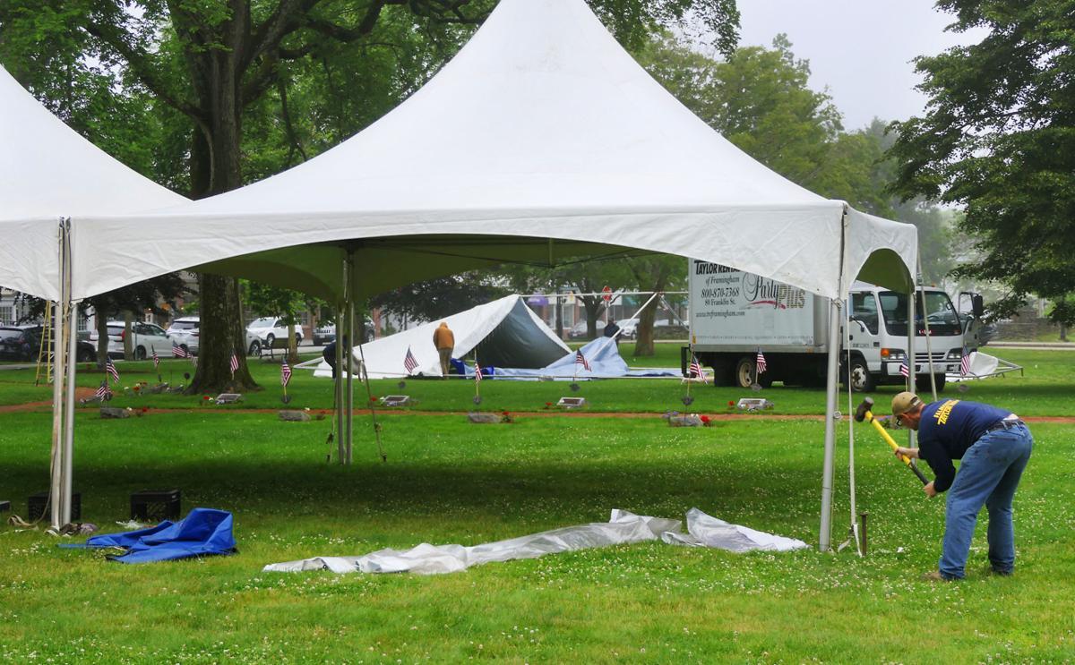 Arts Alive Festival Setup