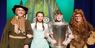 Bourne High School's Production Of The Wizard Of Oz