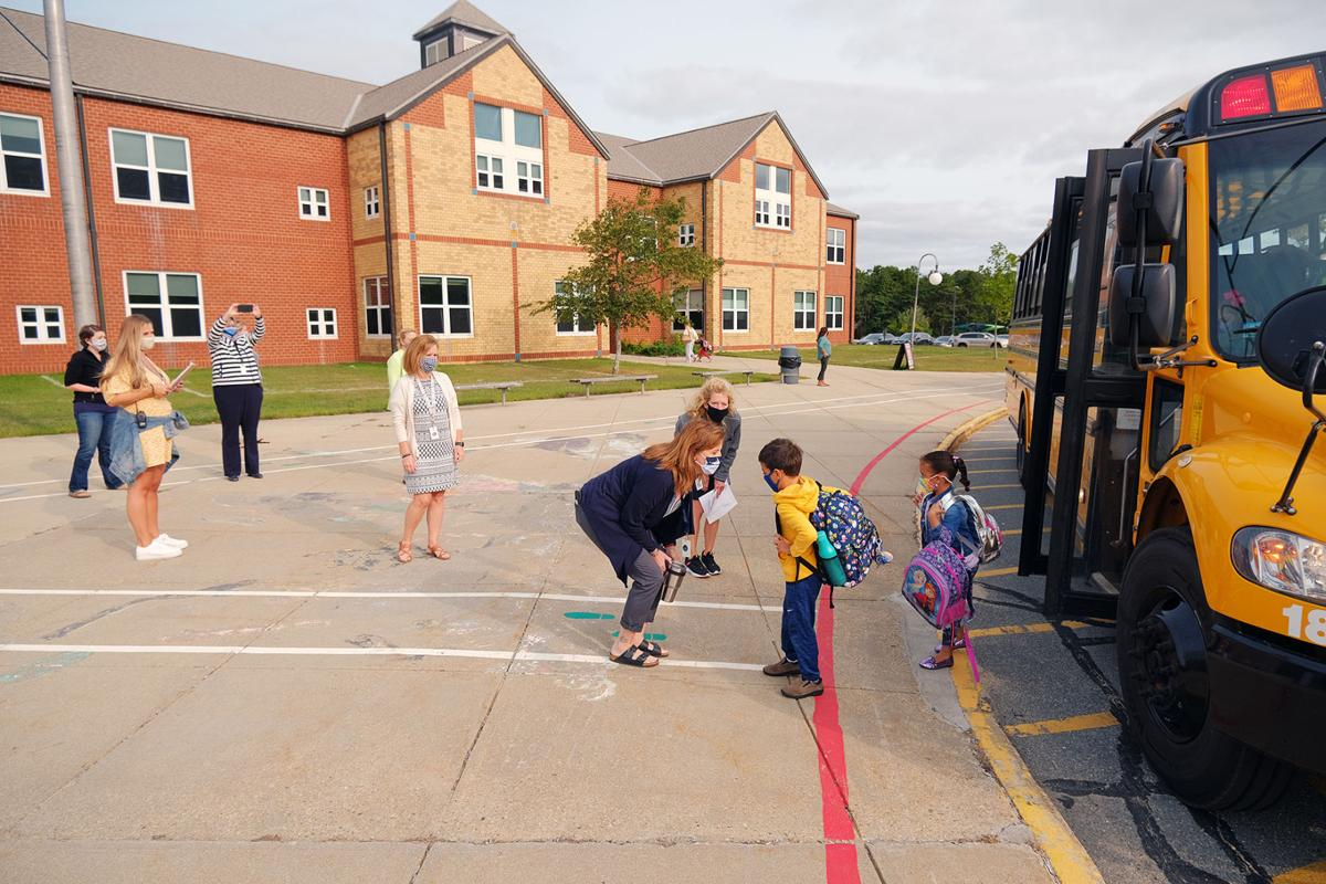 Forestdale School First Day, September 15.