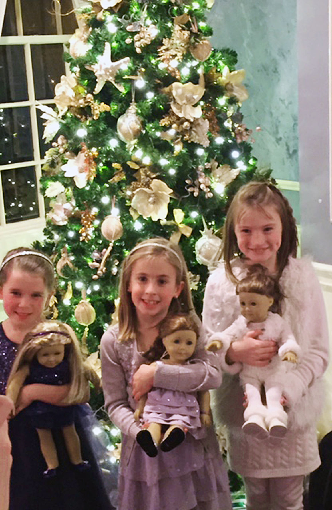 american girl holiday tea party - Christmas Decorations For American Girl Dolls