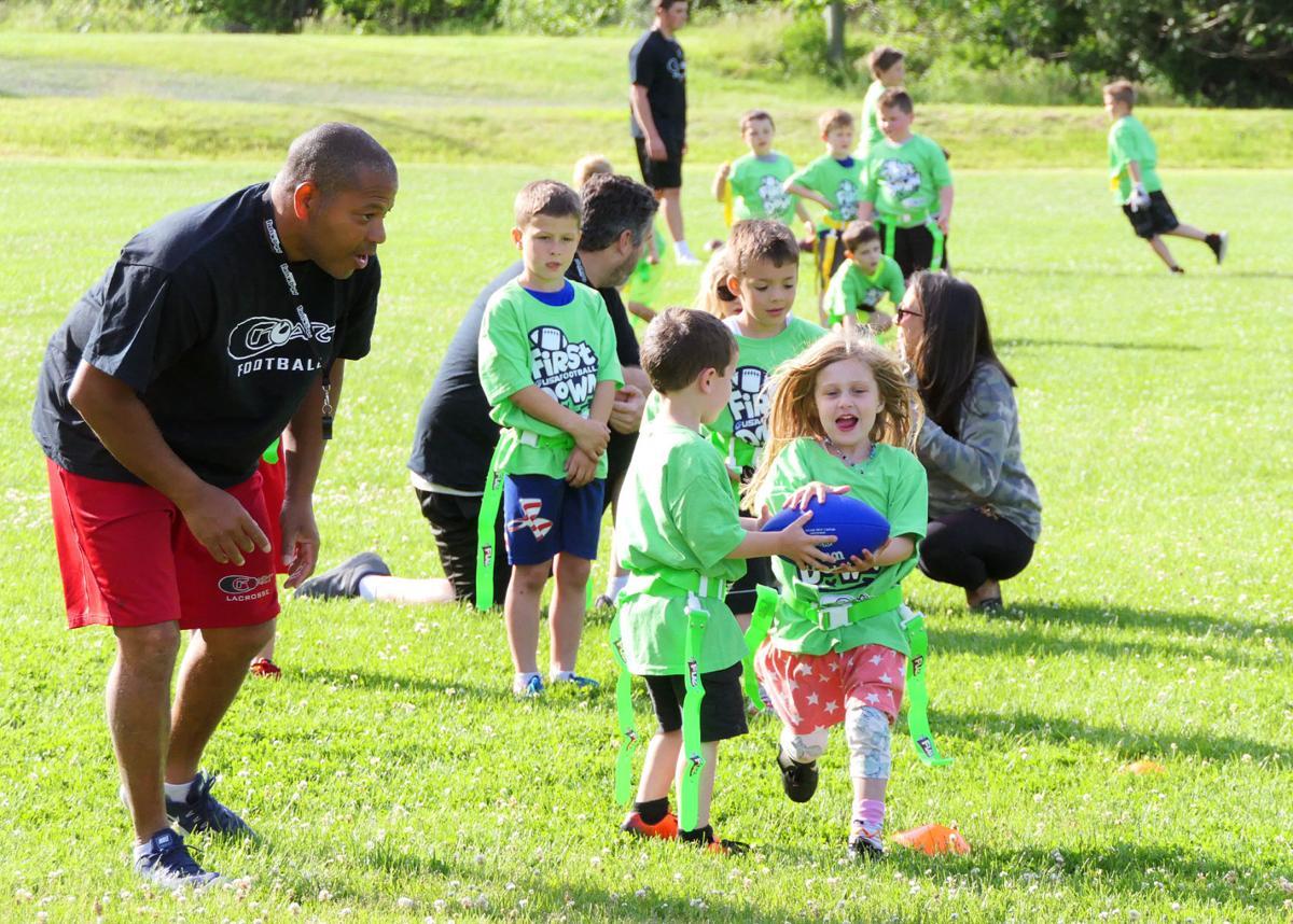 Football Clinic At Falmouth Academy — June 12, 2019