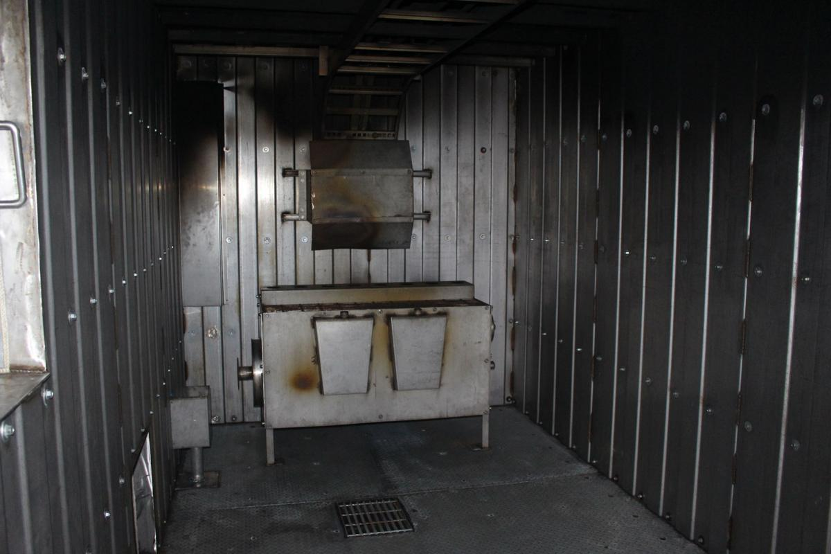 Inside Mobile Fire Training Unit 1