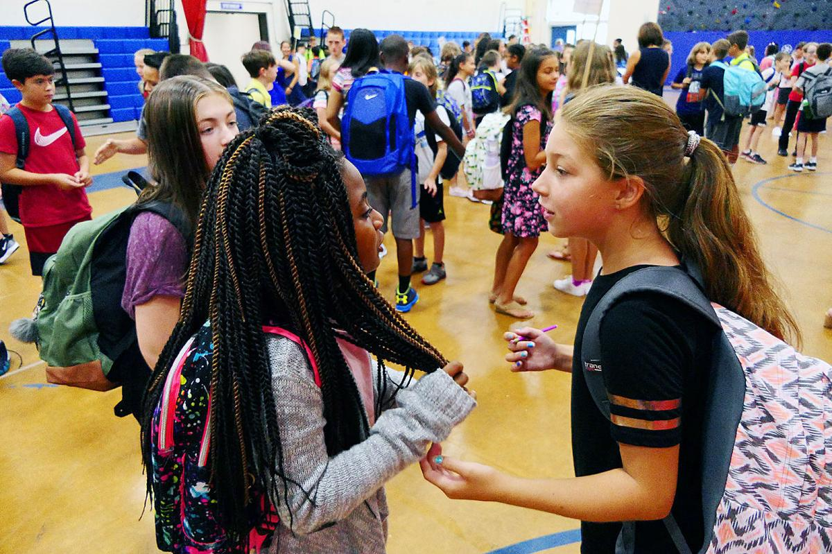 Mashpee First Day Of School — September 4, 2018