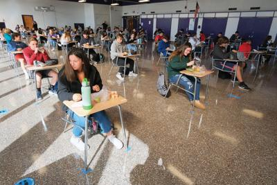 Bourne High School Students Return To Classrooms