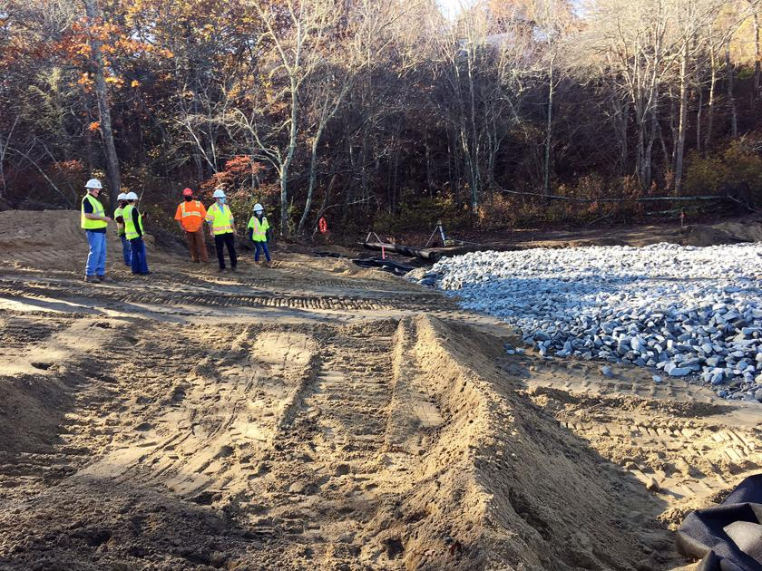 Work Underway To Repair Site Of Train Track Collapse ...