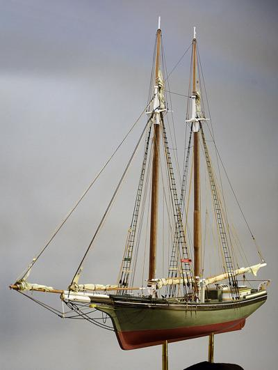 Coastal Schooner Alice S  Wentworth's Legend Lives On At