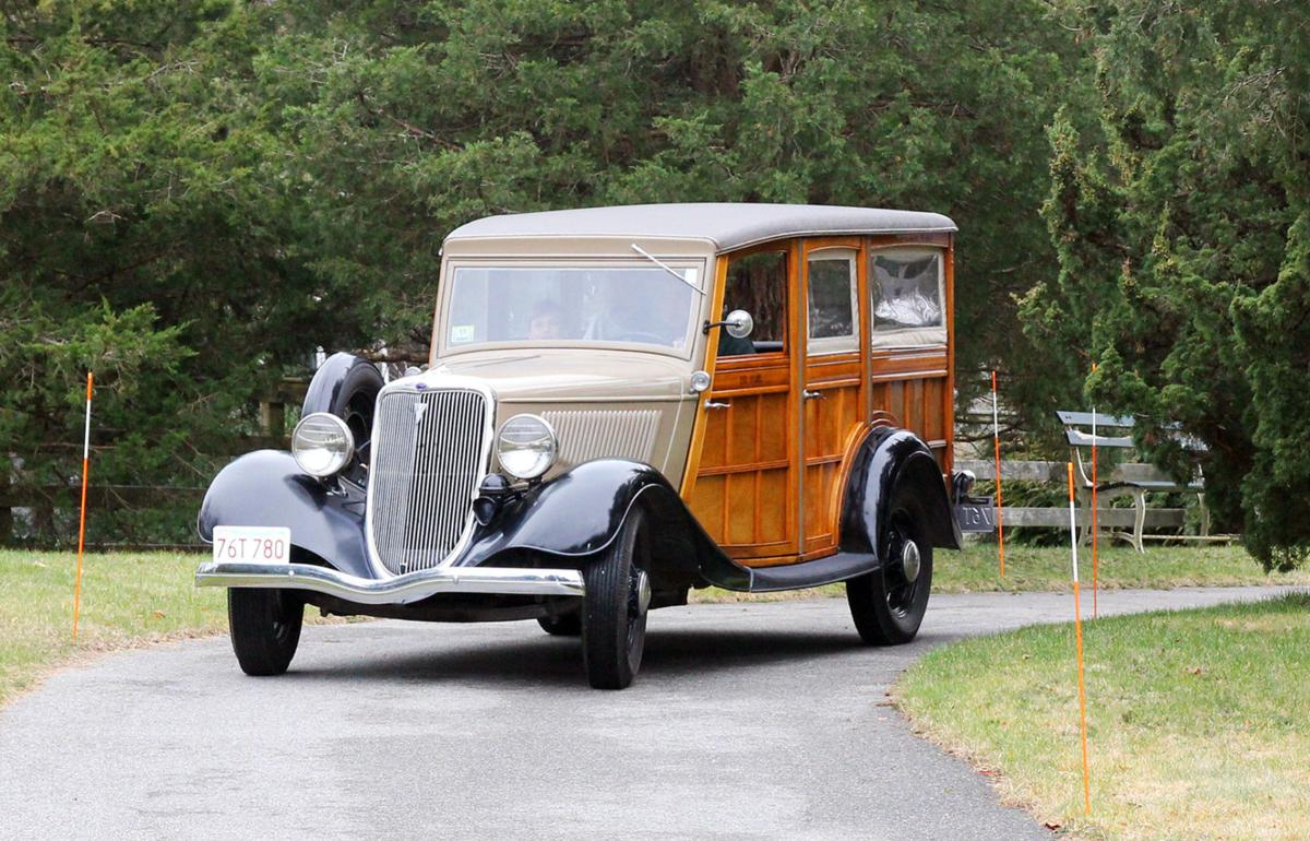 Falmouth Classic Car Club Includes A 1934 Ford Woody Station Wagon