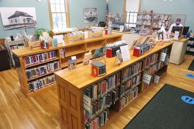 Sandwich Library Relocates To Sand Hill School Community Center