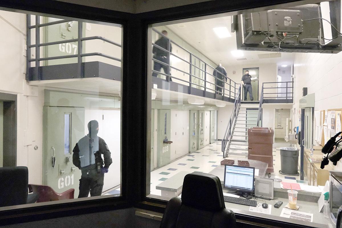 Tour Of The Barnstable County Correctional Facility