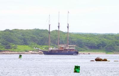 Peacemaker Off Of Nonamessett Island