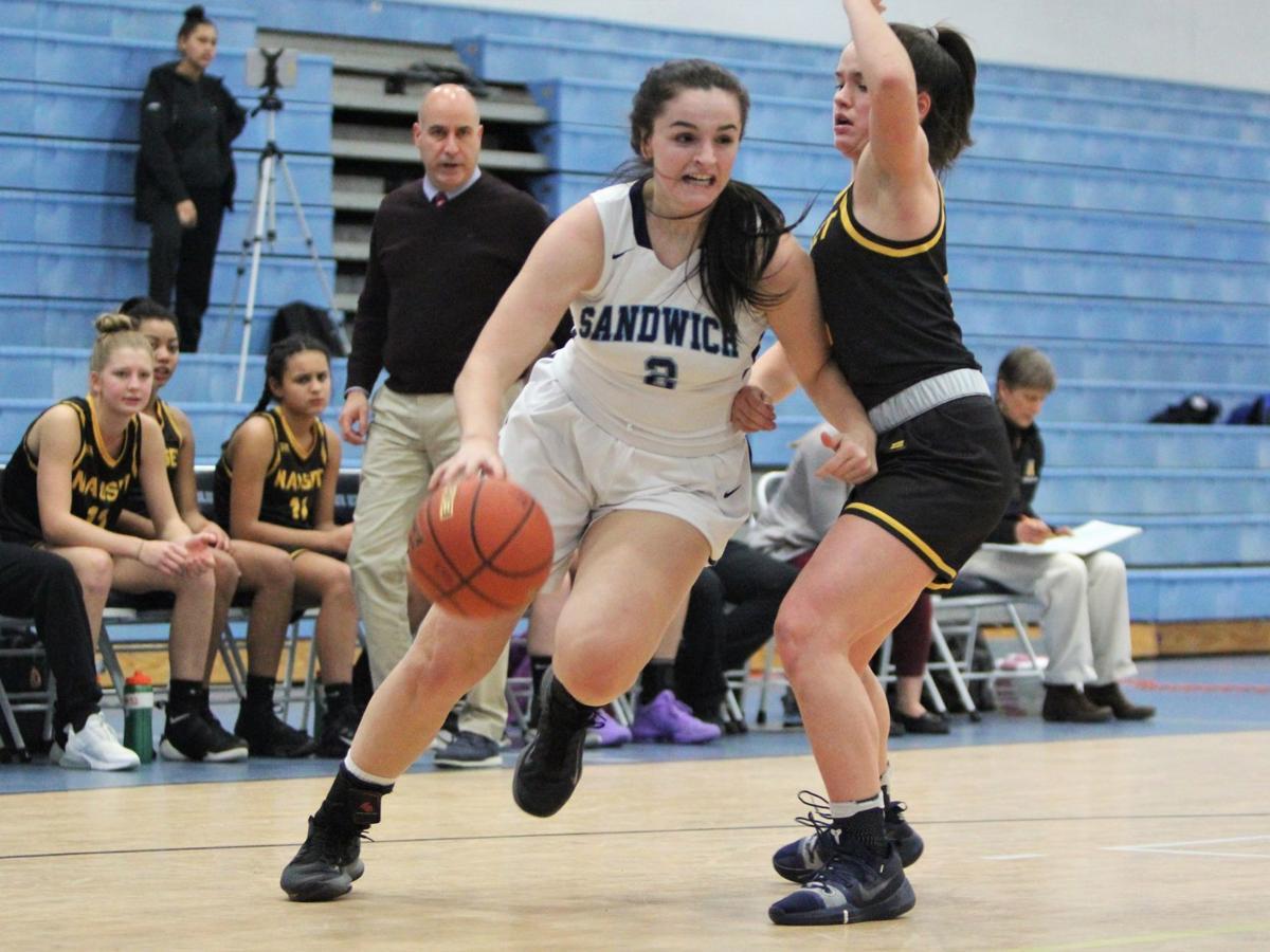 Sandwich Girls' Basketball vs Martha's Vineyard — February 9, 2020