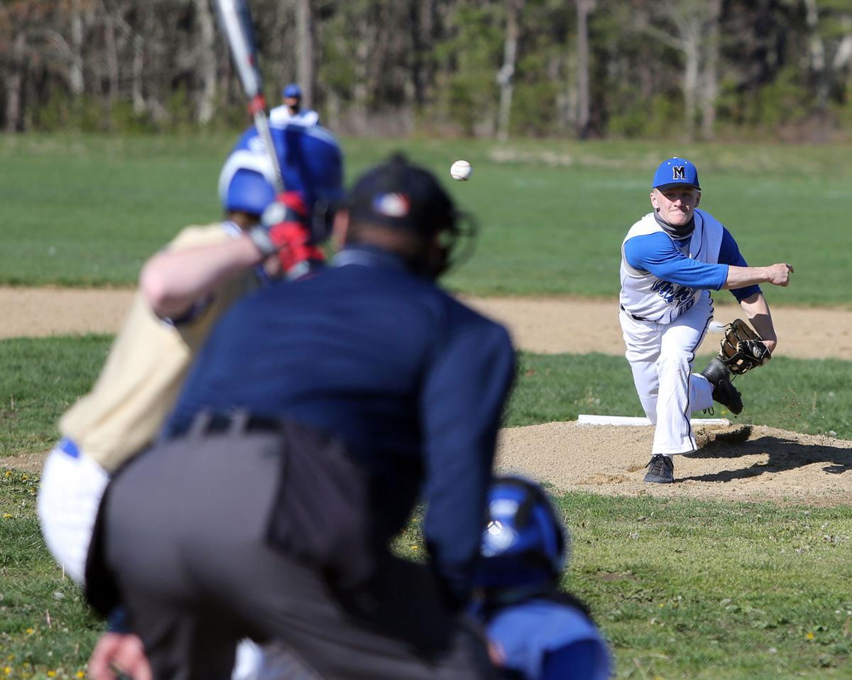 Mashpee High School Falcons Baseball Pound Norwell, 10-0