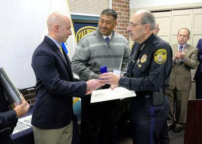 Falmouth Police Department Awards Ceremony