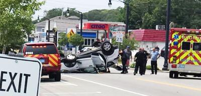 Rollover Crash Main Street Buzzards Bay