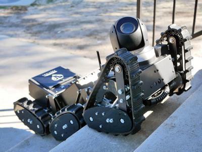 A First For Local Police: A Robot | Mashpee News | capenews net