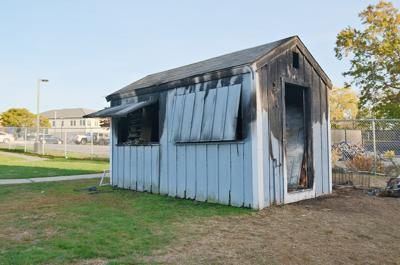 Fuller Field Concession Stand Fire