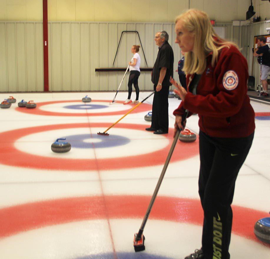 Curling Diane Muldowney