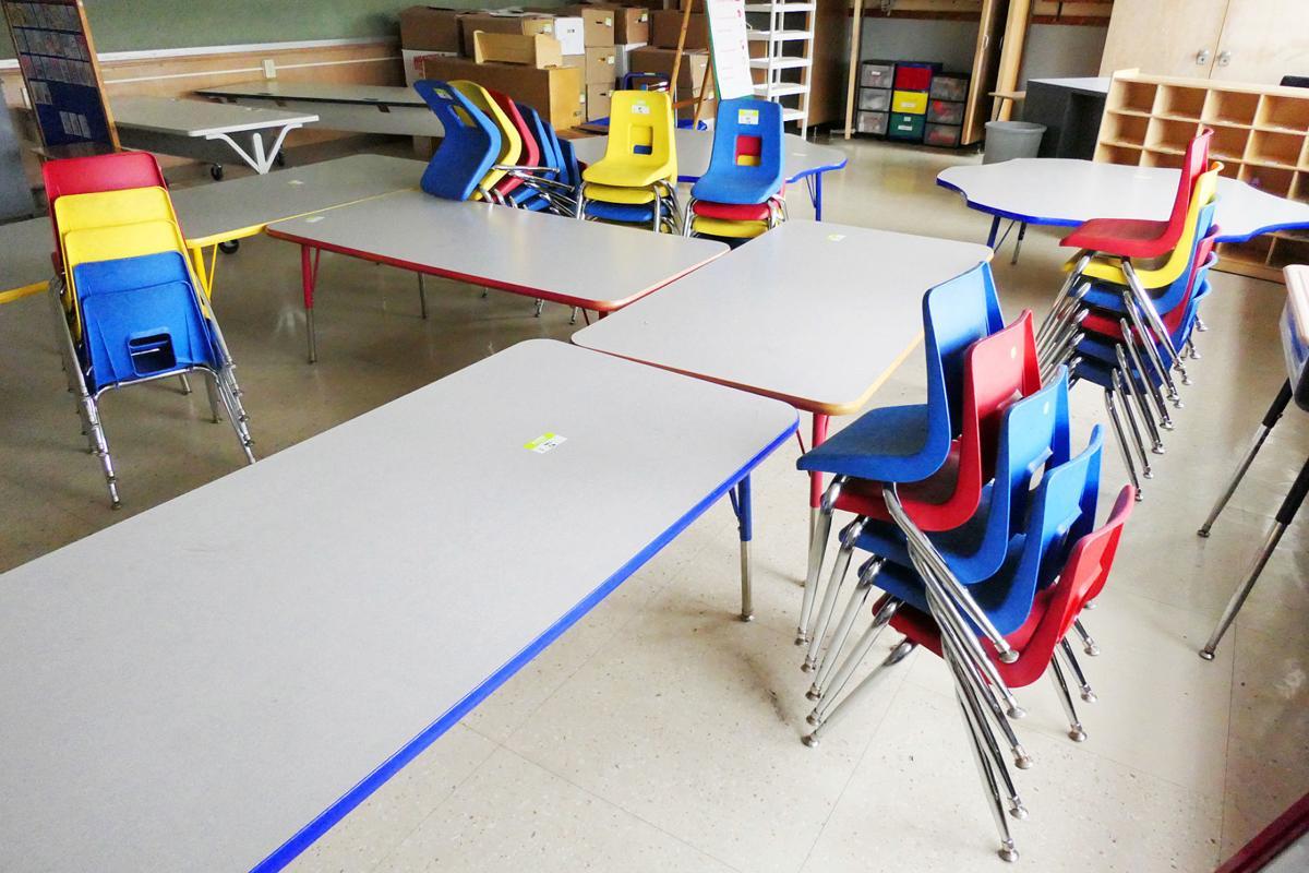 Peebles Elementary School Packs Up