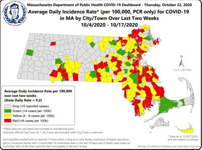 State COVID Map 1022