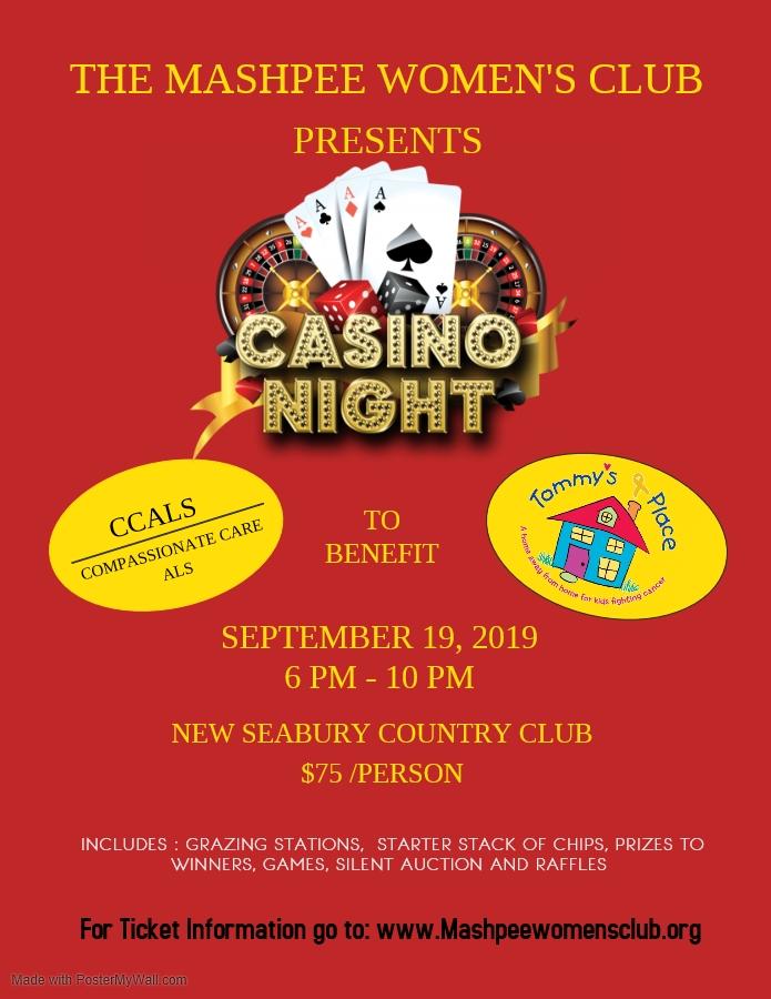 Casino Night  MWC Benefit