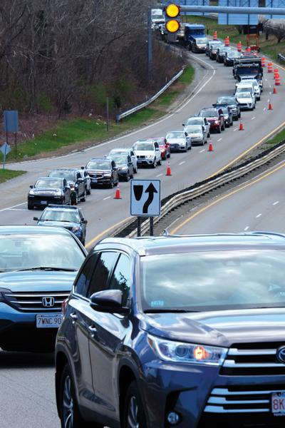 Sagamore Bridge Traffic