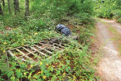 Valley Bars Road Trash Dumping