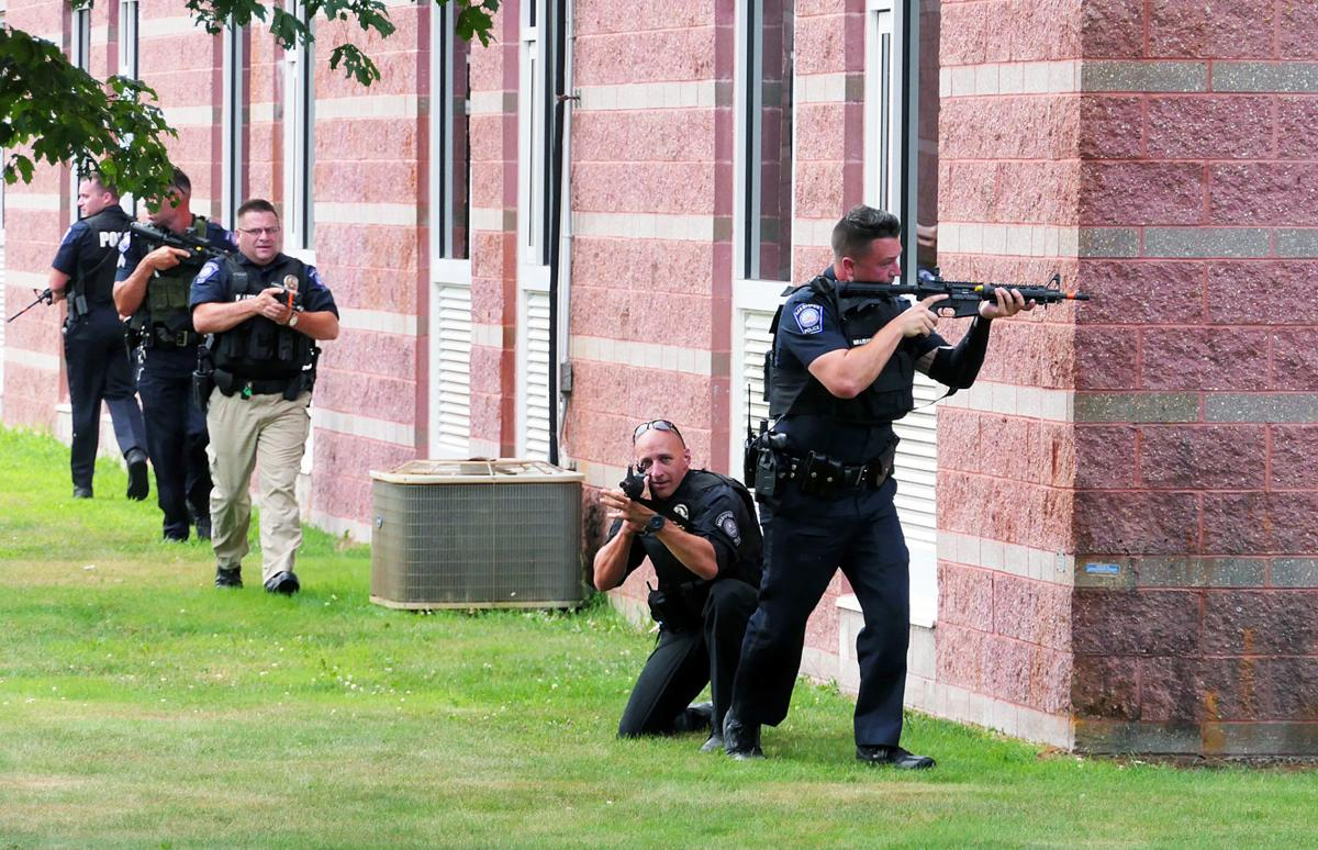 Mashpee Active Shooter Drill At Middle/High School