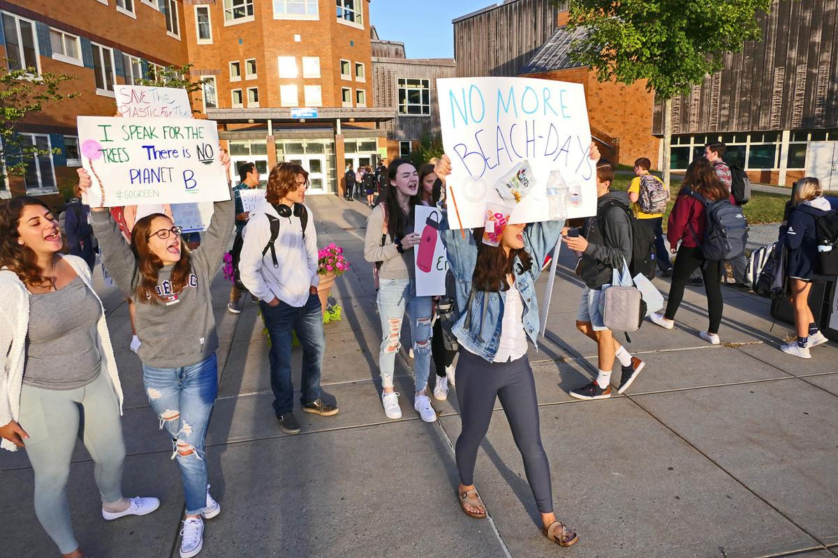 Sandwich High School Students Stand Against Climate Change