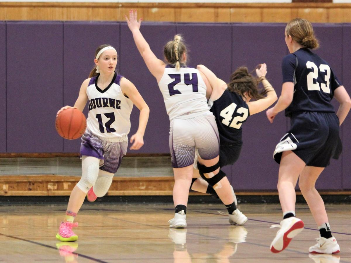 Bourne Girls' Basketball vs Somerset-Berkley — February 11, 2020