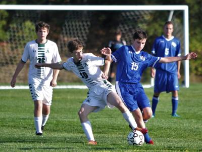 UCT Boys' Soccer vs Abington — October 15, 2019