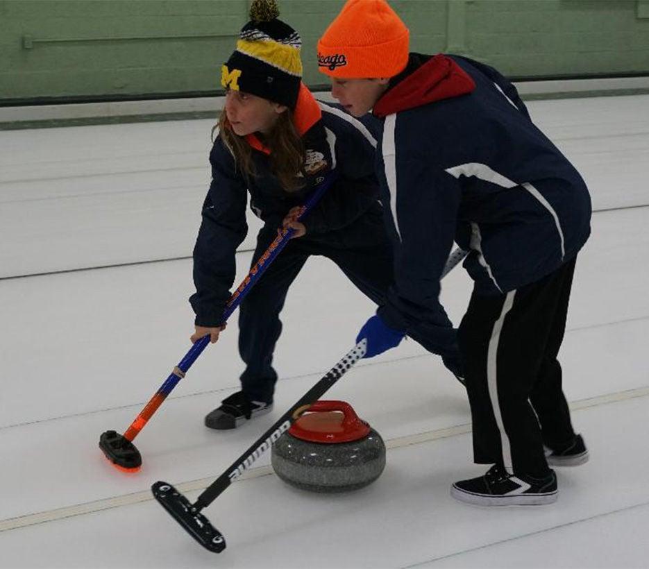 Curling Twins