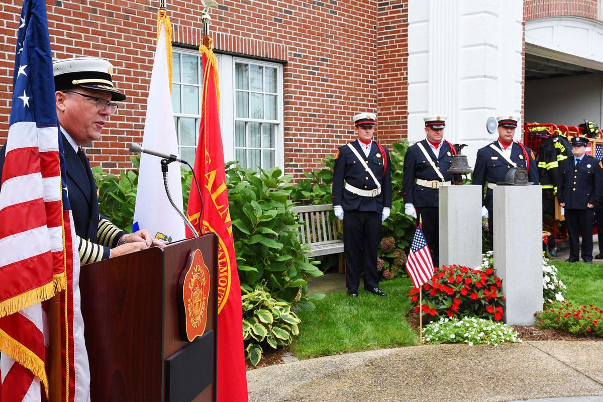 Falmouth 9/11/01 Memorial Ceremony