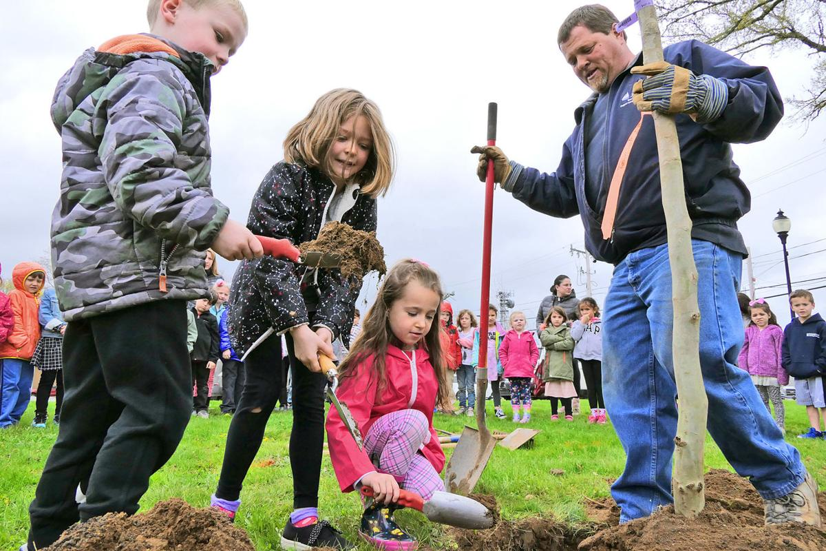 Arbor Day At Mullen Hall
