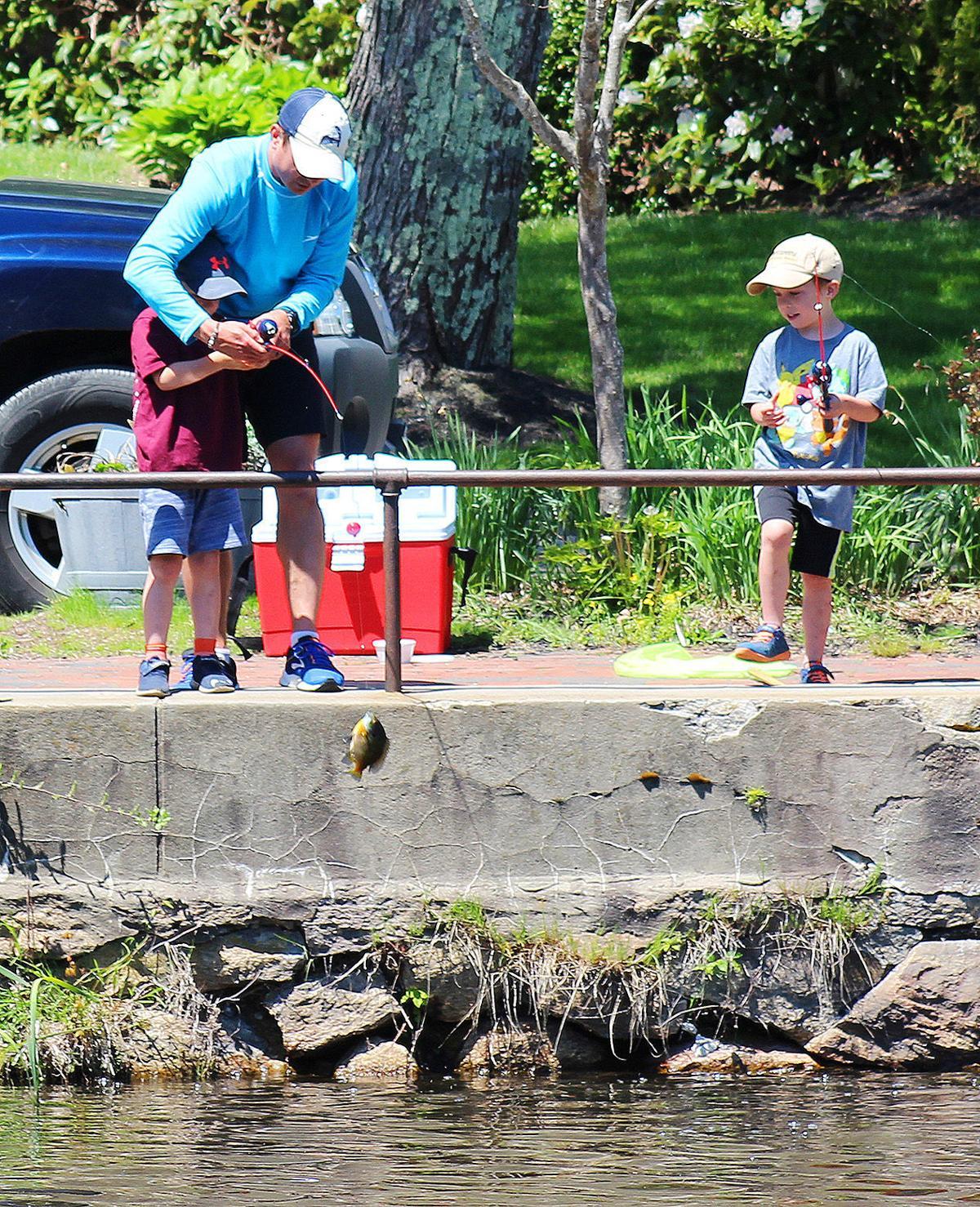 Shawme Pond Fishing