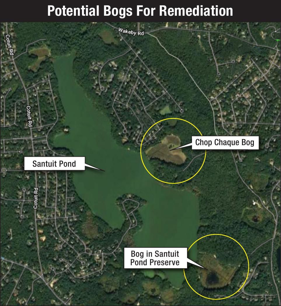 Santuit Pond Potential Remediation
