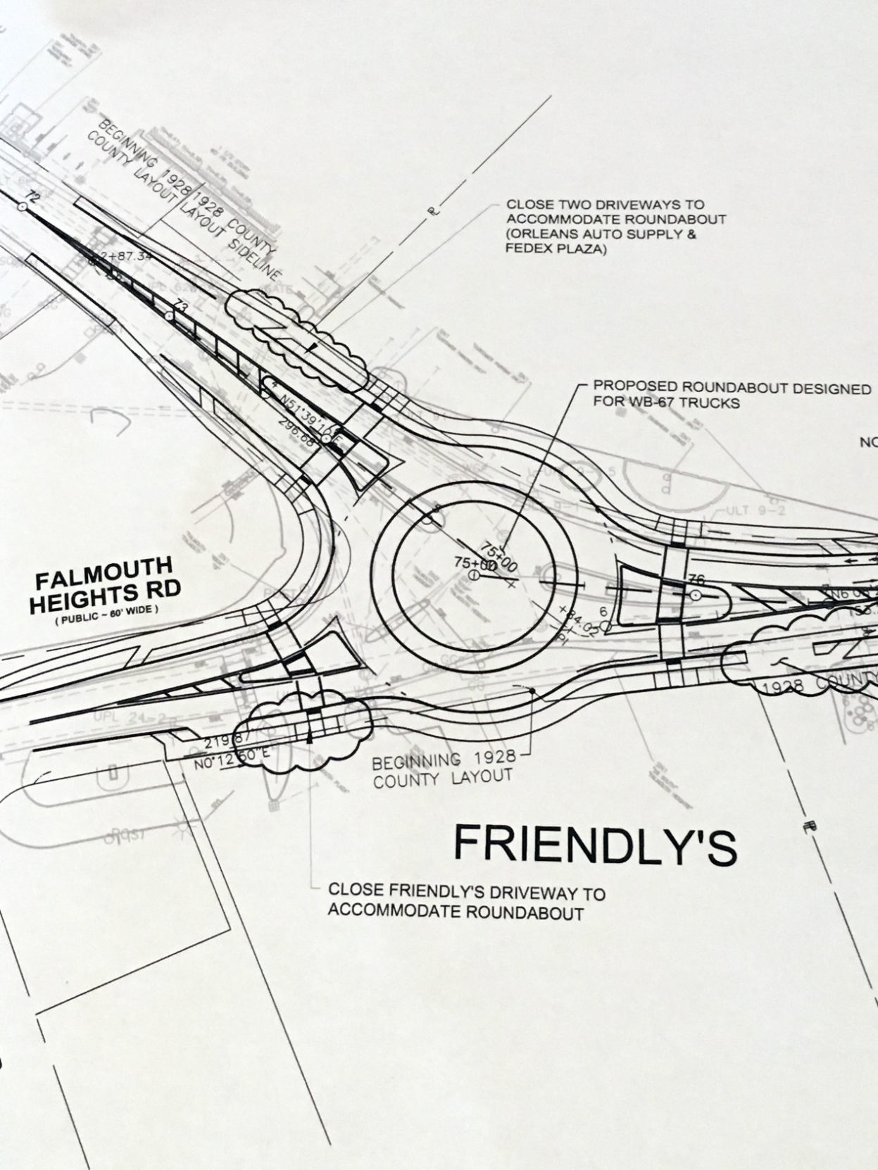 falmouth dpw presents route 28 roadway plan falmouth news Construction Administration falmouth dpw presents route 28 roadway plan