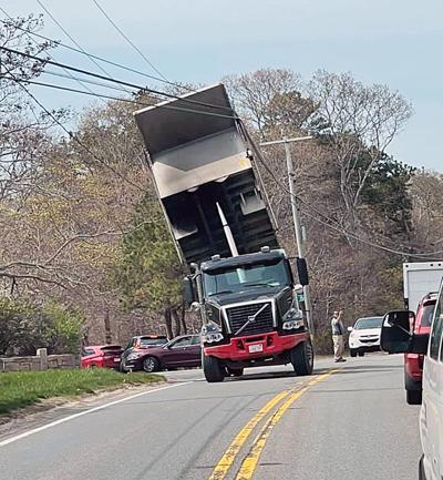 Dump truck Waquoit Highway