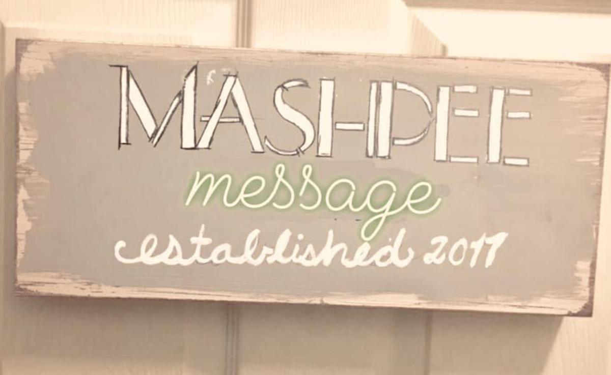 The Mashpee Message Facebook Logo