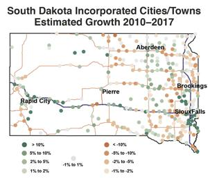 New numbers, old story for South Dakota cities: Over half estimated to be shrinking