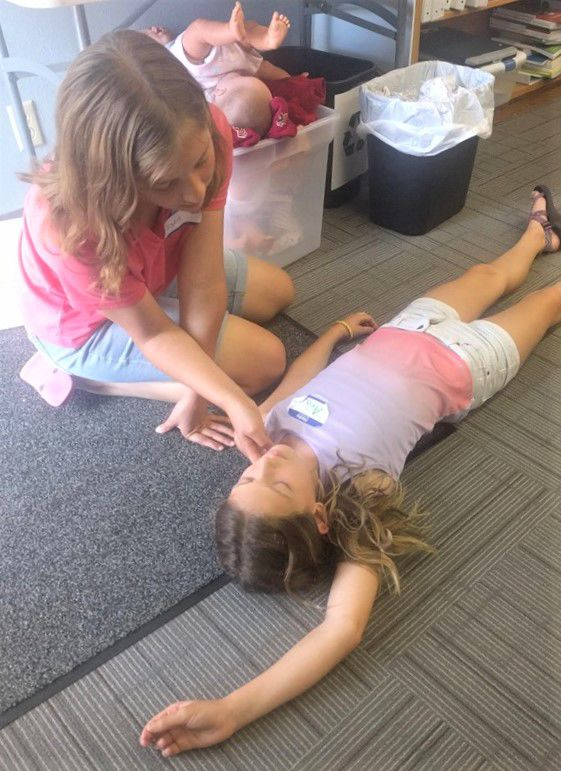 Area youth earn Red Cross Babysitter certification