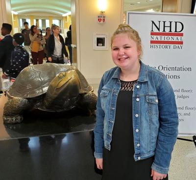 Reitzel competes in National History Day in Washington
